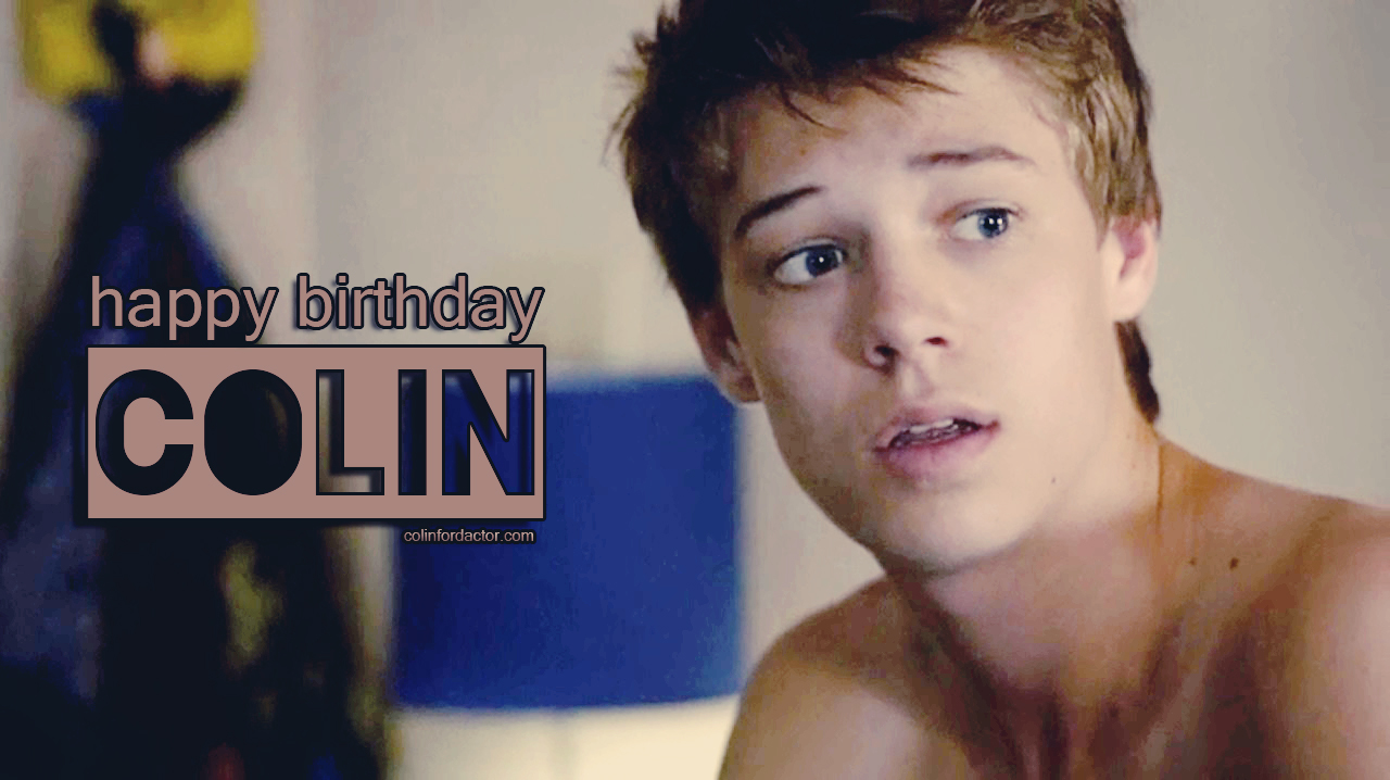 Happy 18th Birthday, Colin! - Colin Ford Official Website
